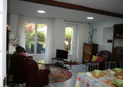 Côté salon et jardin