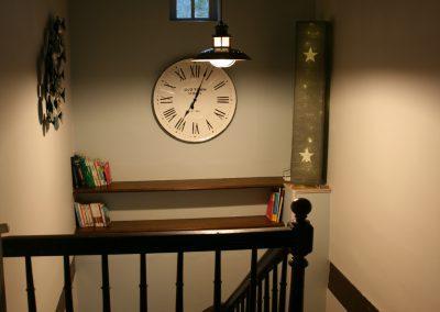 Escalier, vue d'en haut