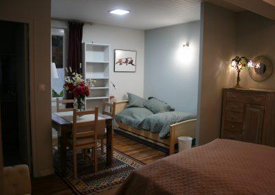 Chambre côté jardin (lit simple)