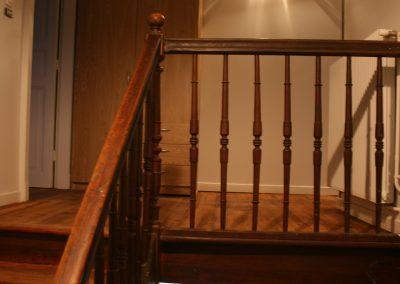 escalier, palier intermédiaire
